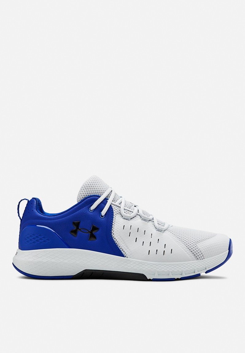 Ua charged commit tr 2.0 - royal/halo gray/black