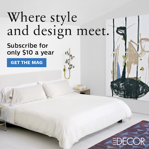 Where style and design meet. Subscribe to ELLE for only $10 a year. Get the mag!