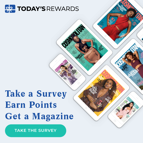 Take a Survey. Earn Points. Get a Magazine.