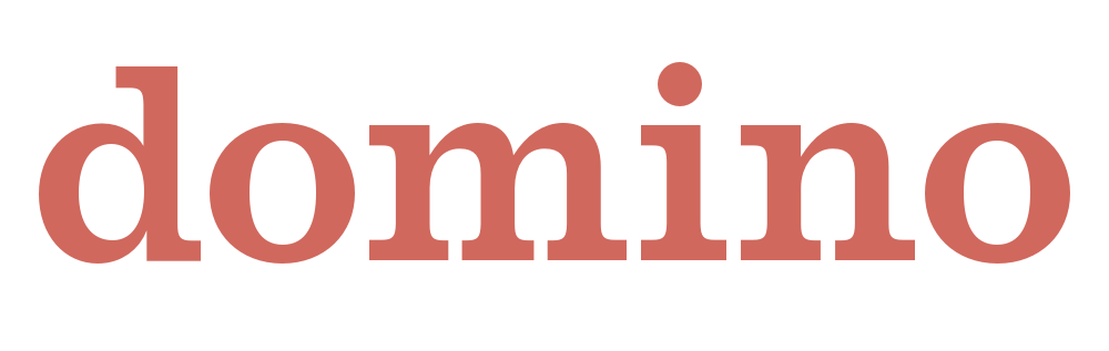 Image result for domino magazine logo