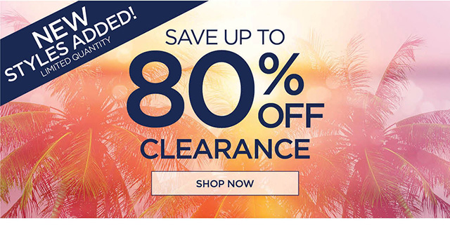 Save up to 80% Clearance