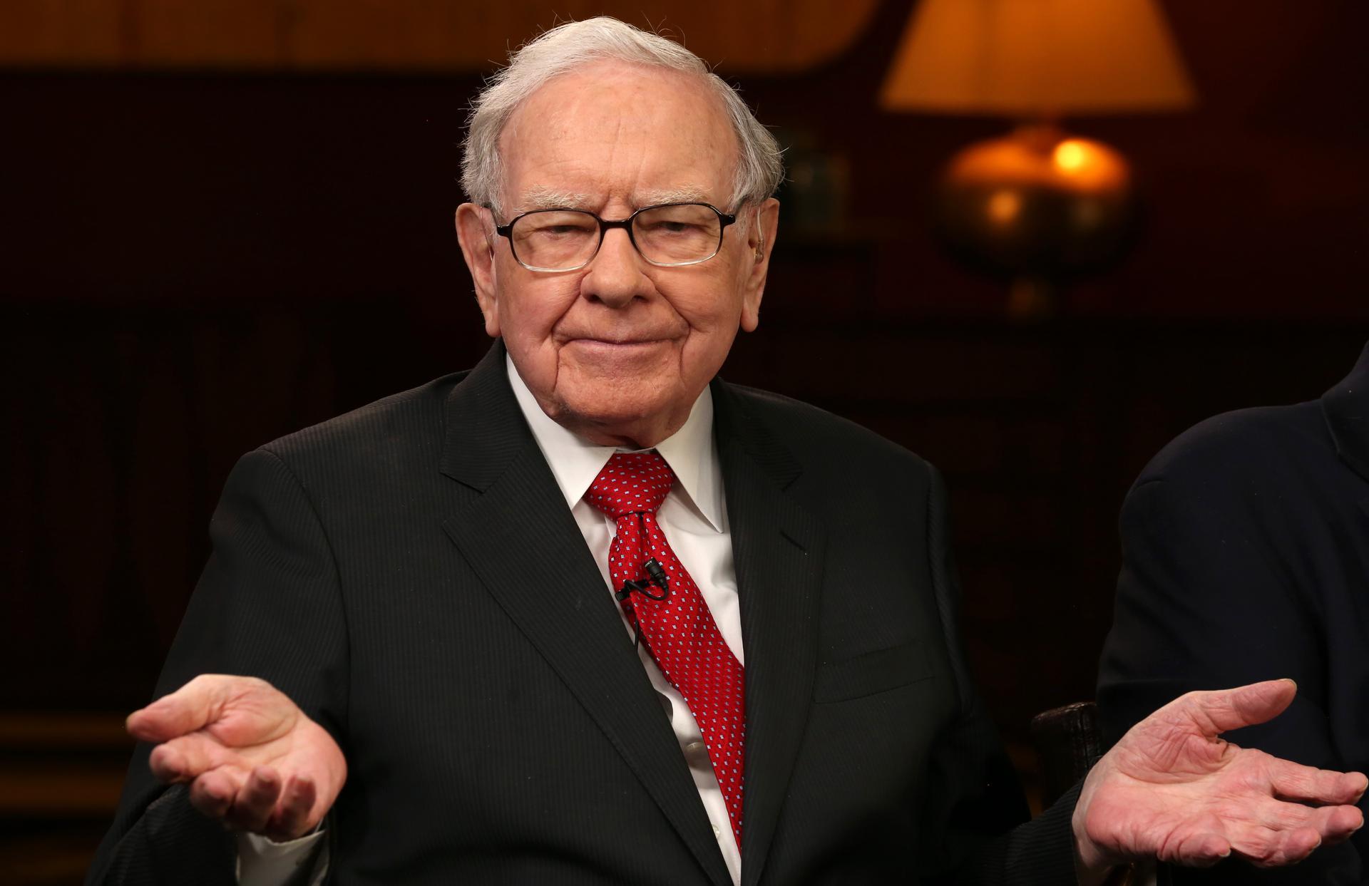 Warren Buffett in 2019. Photo: Gerard Miller | CNBC