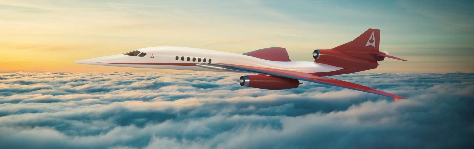 Aerion AS2 jet - Aerion illustration