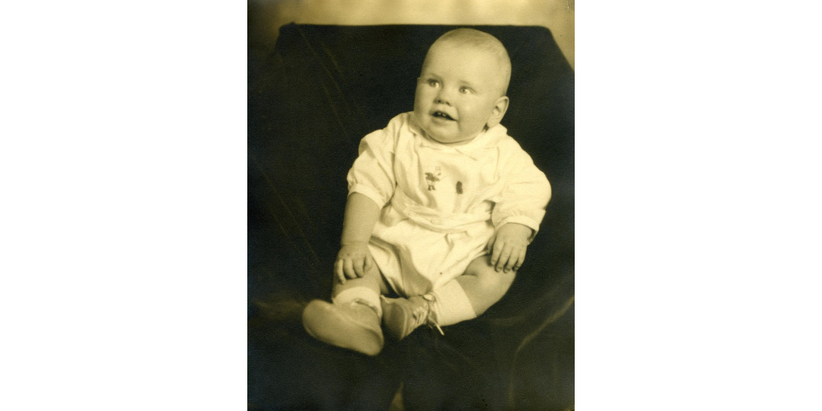 Warren Buffett baby photo