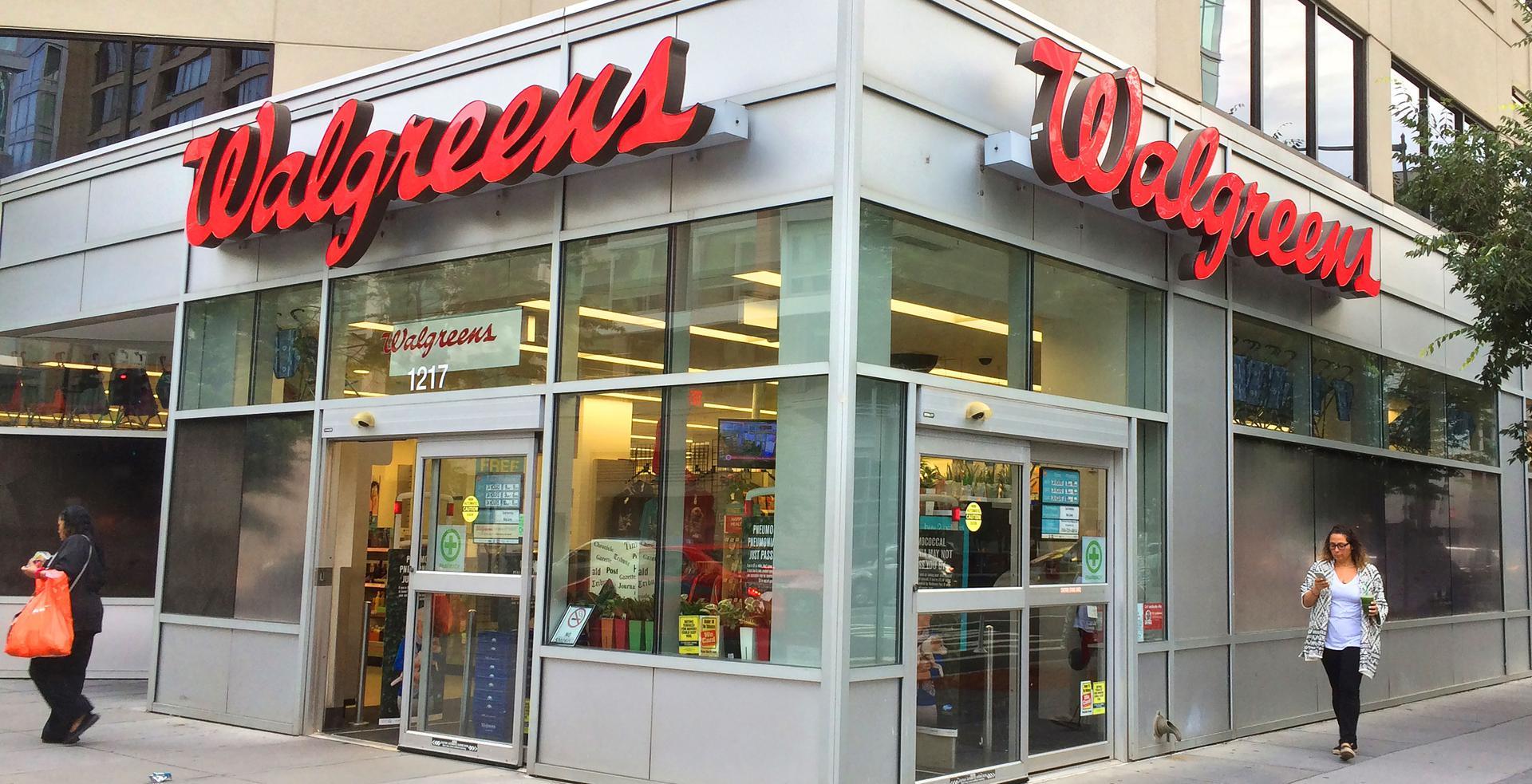 A Walgreens store is seen on June 14, 2016 in Washington,DC. / KAREN BLEIER/AFP via Getty Images