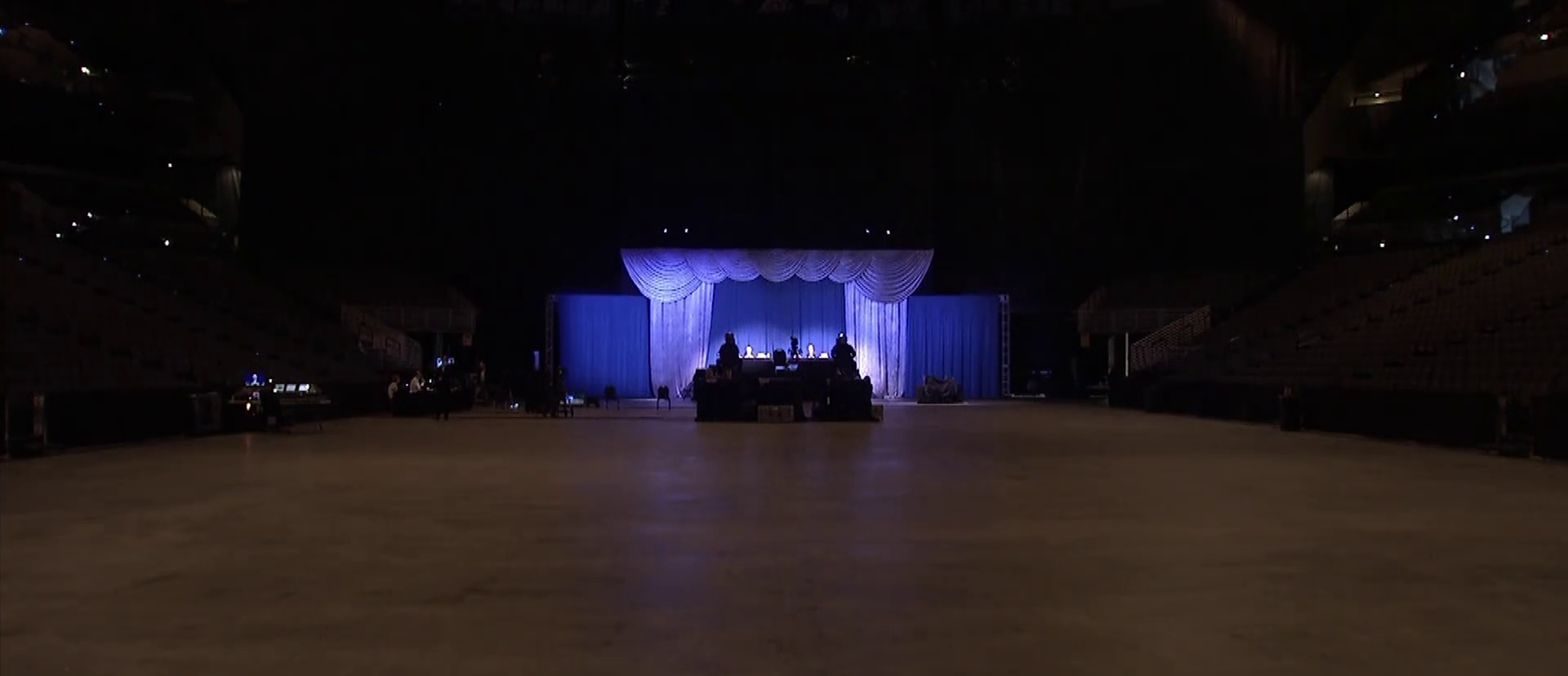 Berkshire Hathaway's 2020 annual shareholders meeting in Omaha was held in a large arena but without an audience.