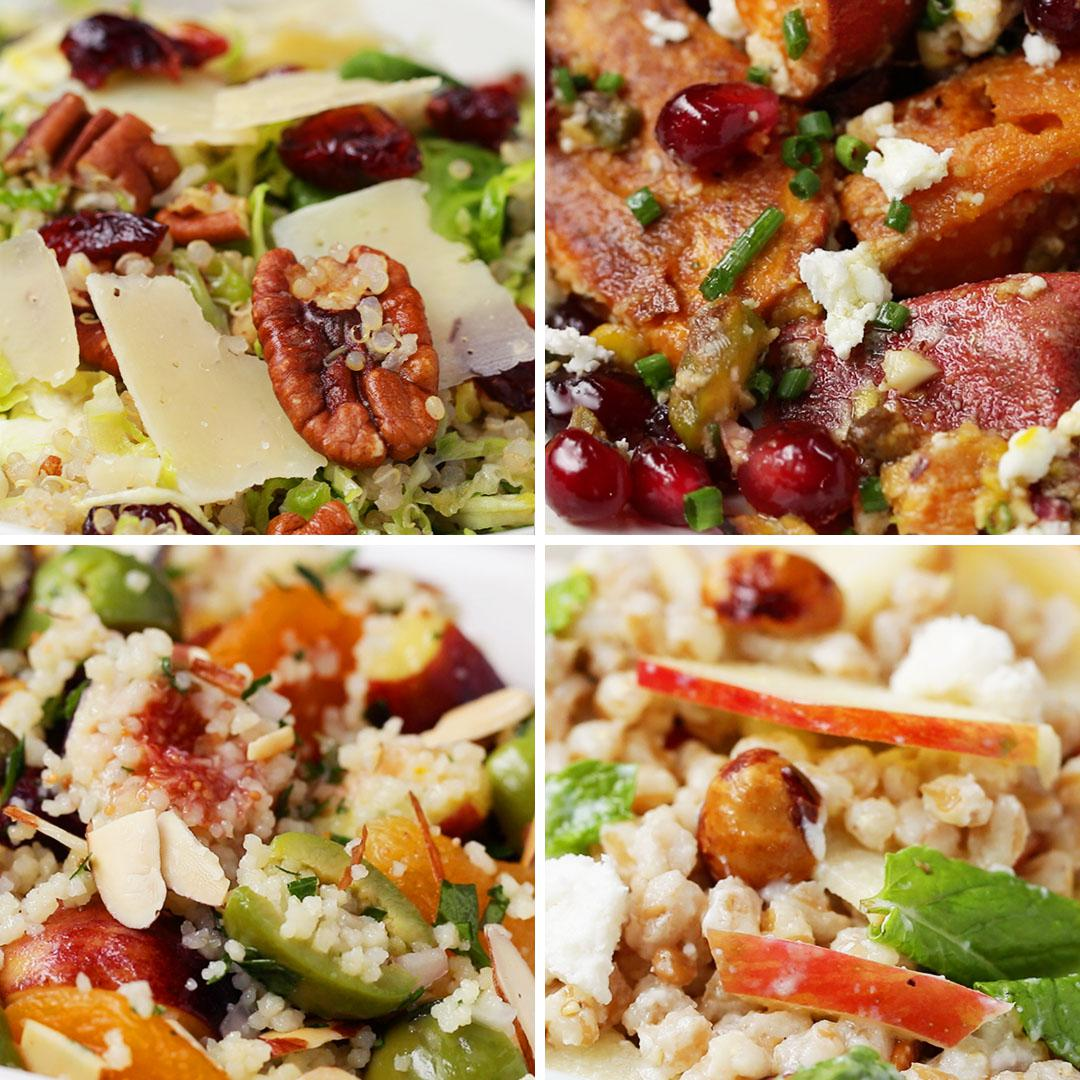 Lettuce-Free Winter Salads