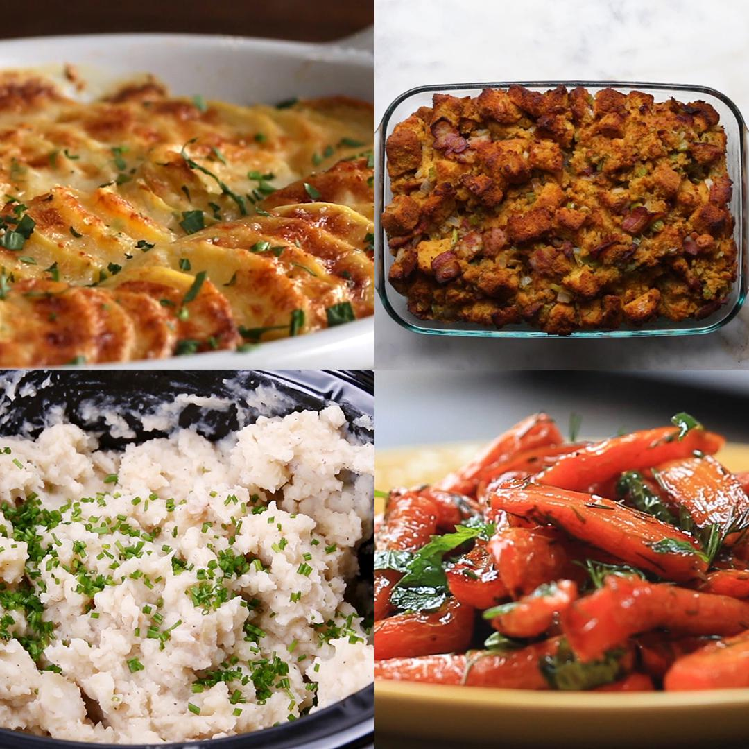 Four Classic Family-Friendly Thanksgiving Sides