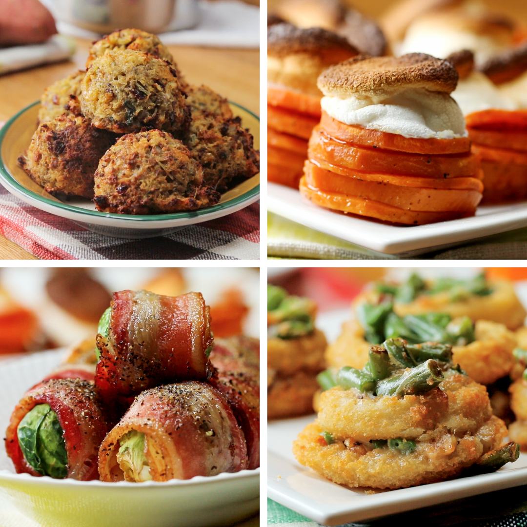 4 Thanksgiving Day Appetizers