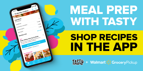 Shop the Tasty App with Walmart