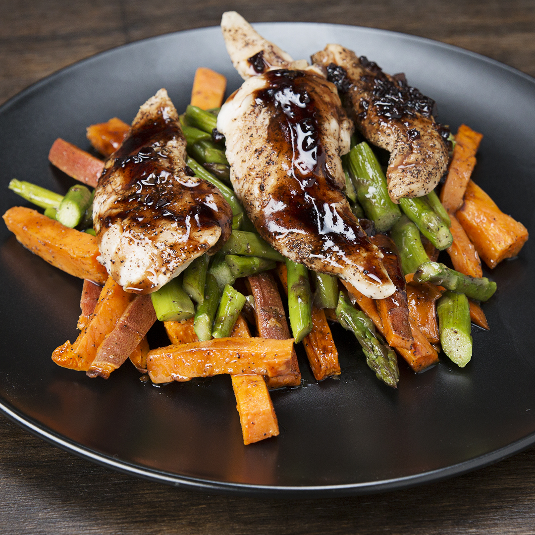 Balsamic Chicken And Veggies Meal Prep