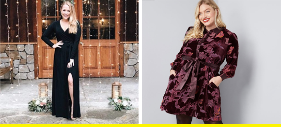 dresses in the winter