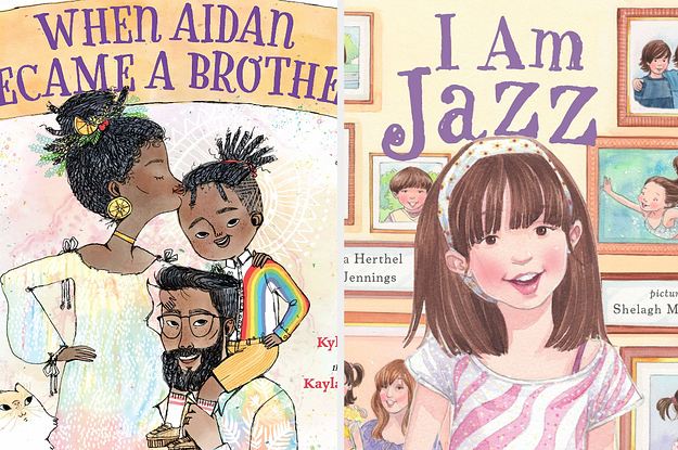 Book covers: When Aidan Became a Brother; I Am Jazz