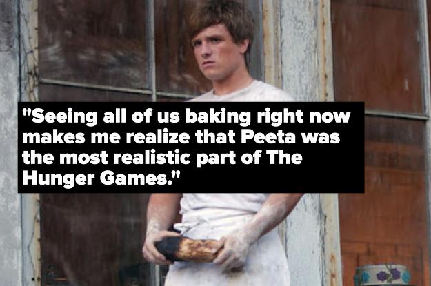 Peeta from Hunger Games