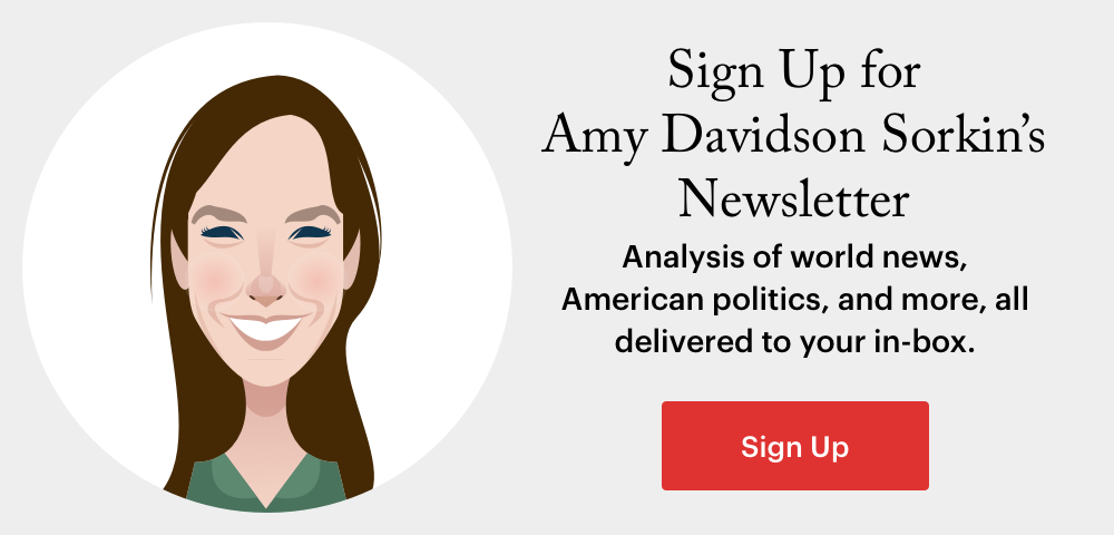 (image) Sign Up for Amy Davidson Sorkin's Newsletter