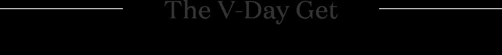 The V-Day Get Logo