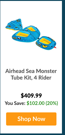 Airhead Sea Monster Tube Kit, 4 Rider - Shop Now