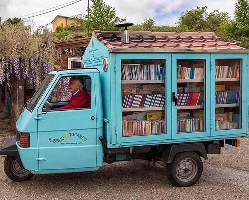 bookstore in truck