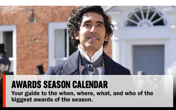 Awards Season Calendar