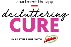 Apartment Therapy Decluttering Cure
