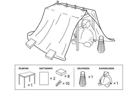 It Is the Right Time for an Official IKEA Blanket Fort